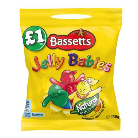 Jelly Babies Sweets Maynards Bassetts 165g